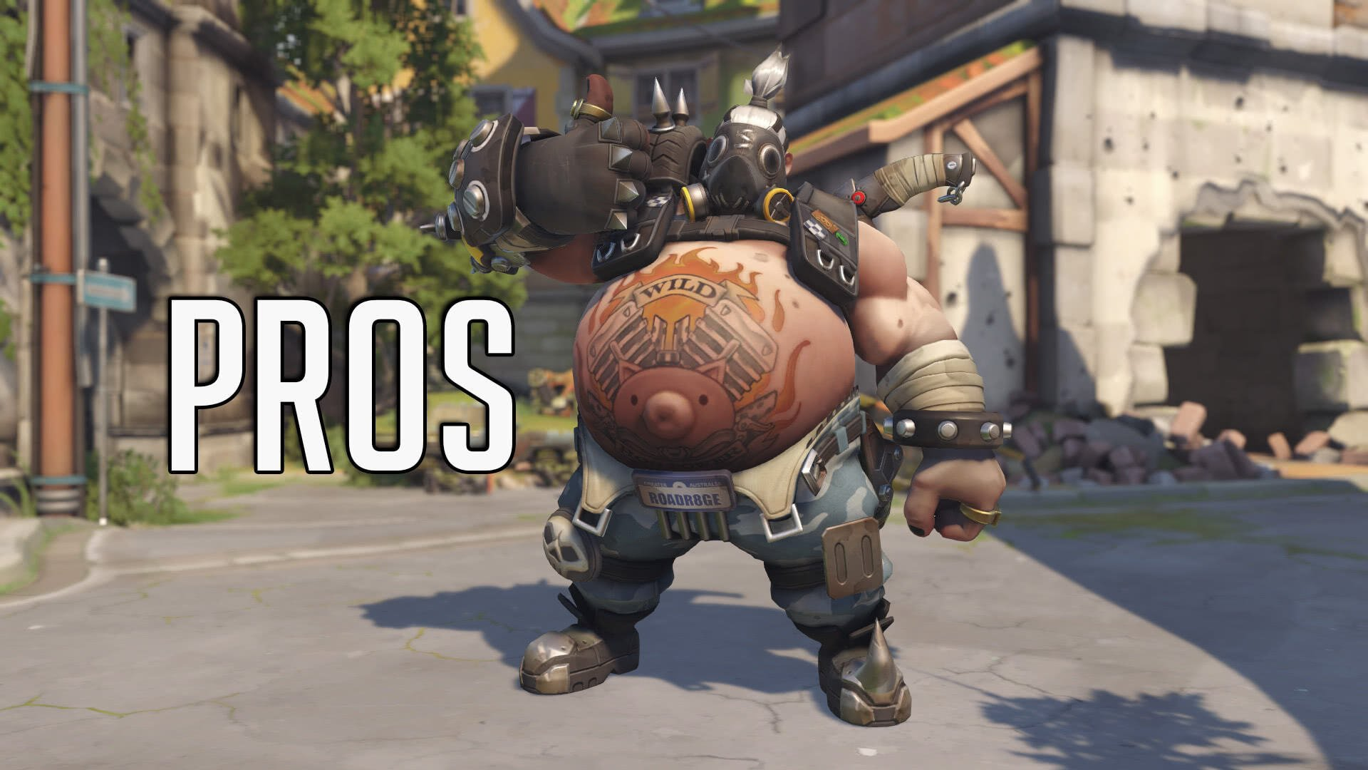 Roadhog Thumbs Up Overwatch Role Queue System Review - Pros